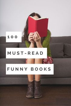 100 Must-Read Hilarious Books Looking for some LOLs? You'll want to pick up one or more of these 100 must-read hilarious books. Ya Books, Book Club Books, Book Lists, Good Books, Humor Books, Reading Lists, Teen Books, Reading Books, Book Suggestions