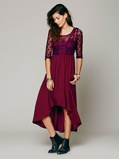Free People Lonesome Dove Dress at Free People Clothing Boutique