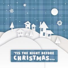 'TIS THE NIGHT before Christmas! We can hardly wait! We hope you have a wonderful night relaxing before the big day! #dfcadent #christmas #dentistry