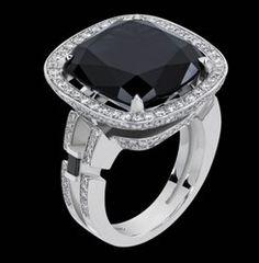 Canturi diamond and sapphire ring.