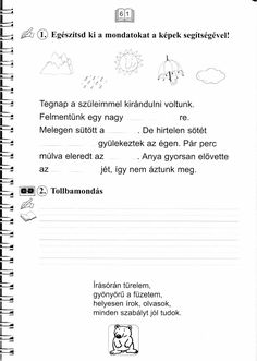 Helyesírás Firka Manóval First Year, Kids And Parenting, Education, Math Equations, Onderwijs, Learning