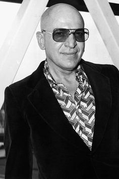 Actor Telly Savalas
