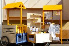 talk about a pop-up shop... LOVE! ♥ {craft booth setup}