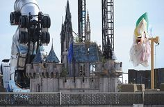 DismalBanksy's latest stunt? New show' called Dismaland - http://streetiam.com/is-this-banksys-latest-stunt-underground-artist-is-preparing-new-show-including-a-fairy-castle-and-massive-sculptures-on-site-of-old-lido-in-weston-super-mare-4/