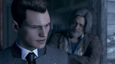 Detroit become human Connor and Hank