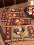 Mediterranean Rooster Placemats
