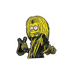 Bart Maiden Pin
