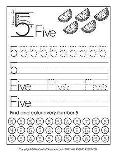 Free Number Worksheets