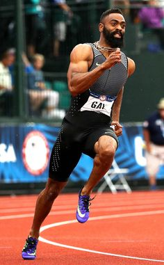 David Oliver, USA from Hot Bods: Olympics Edition Action Pose Reference, Human Poses Reference, Action Poses, Olympic Athletes, Olympic Sports, Hot Black Guys, Poses References, Fastest Man, Running Man