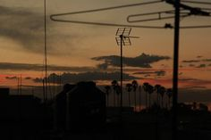 Rooftop sunset Photo by Abraham Venegas -- National Geographic Your Shot
