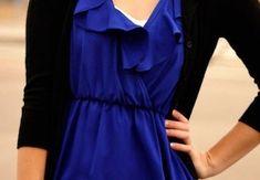 Kobaltová modrá patrí do vášho šatníka - KAMzaKRASOU.sk Tops, Fashion, Moda, Fasion, Trendy Fashion, La Mode