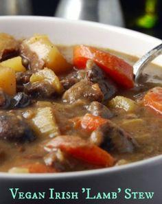 Vegan version of Irish Lamb Stew