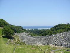 Ruin of castle ( Nakijin-jo)