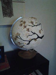 Homemade globe