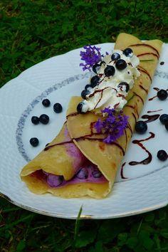 Kouzlo mého domova: Chalupářské hrníčkové palačinky s borůvkovým tvarohem