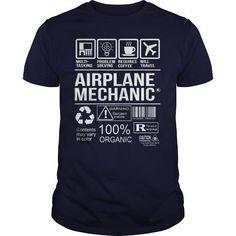 Awesome Tee For Airplane Mechanic T Shirts, Hoodies. Check Price ==►…