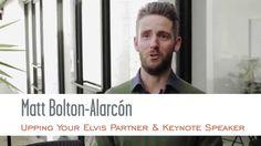 Matt Bolton-Alarcón, Keynote Speaker at Upping Your Elvis