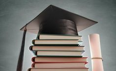 Graduation cap over the pile of books with blackboard on background. Free art print of Graduation Books. Pile Of Books, Animation Tutorial, Free Art Prints, Blackboards, Classroom Decor, Graduation, Illustration Art, Canvas Prints, Wall Art