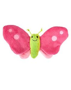 Gymboree butterfly crinkle toy