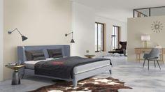Retro Eclectic bedroom #BenjaminMoore #DBWM #DreamDigsSweeps