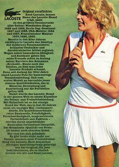 Lacoste tennis fashion 1979 - 80s-tennis.com