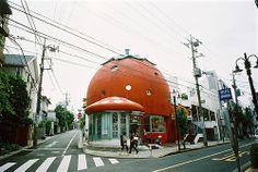 strawberry house by hiki., via Flickr