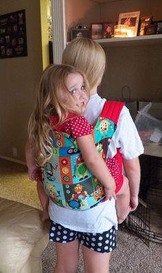 Deluxe Mei Tai Baby Carrier in Robots With Padded by MyNipNap, $44.95. And this too