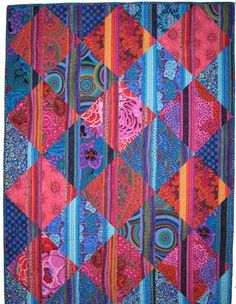 Winner of  'Kaffe Fasset Quilts: Shots and Stripes' !