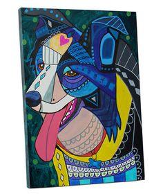 Border Collie art art dog Art Print Poster by Heather Galler Border Collie Art, Dachshund Art, Dog Poster, Poster Prints, Art Prints, Mexican Folk Art, Disney Films, Tile Art, Animal Paintings