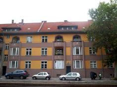 housing estate from the 20's, Hohenschönhausen, Berlin
