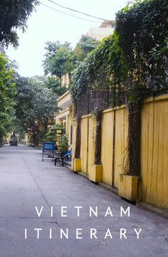 6 weeks in Vietnam - South to North.