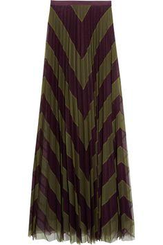 Tulle de soie vert kaki et violet foncé  Agrafe et fermeture à glissière…