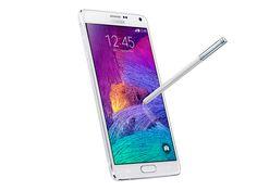 Samsung Galaxy Note 4 con pantalla super AMOLED Quad HD, look Premium, S Pen avanzado y cámara de 16 MP especial selfies.