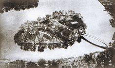 Luftbild Winter 1936 Abteiinsel.