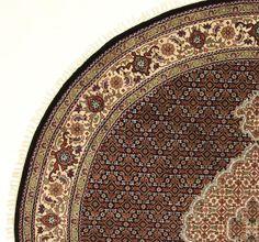 Traditionell Orientalisch  Faraje woll und silk Nomade Teppich Carpet 200x200