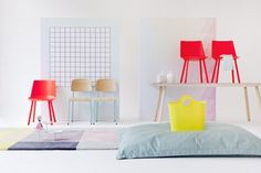 neon + pastel, The Design Chaser