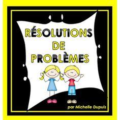 Activité: Résolutions de problèmes Table Addition, Math Addition, French Immersion, Math Problems, Math Numbers, Numeracy, Learn French, Foreign Languages, Classroom Management