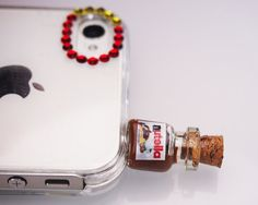 Items similar to Nutella Pluggy/AntiDust Stopper for Phone/Iphone plug/Headphone Jack/ Plug on Etsy