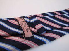 Thomas Pink Tie  - - Modern Necktie - - 100% Silk - - Made in France - Excellent #ThomasPink #Tie