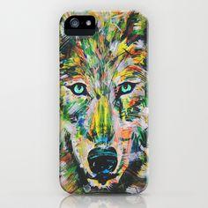 Wolf in Rain iPhone Case