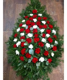 Funeral Bouquet, Christmas Wreaths, Holiday Decor
