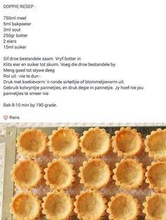 Pastry Recipes, Tart Recipes, Sweet Recipes, Baking Recipes, Cookie Recipes, Dessert Recipes, Desserts, Kos, Ma Baker