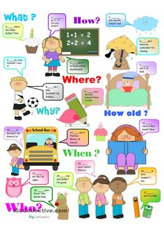 Question Words Chart and Practice for Beginners