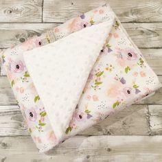 Image of Imogen Floral Blankets, Bumpers & Bedding Baby Nursery Bedding, Cot Bedding, Baby Nursery Decor, Baby Bedroom, Fabric Storage Baskets, Diy Baby Gifts, Soft Baby Blankets, Floral Nursery, Reborn Baby Dolls