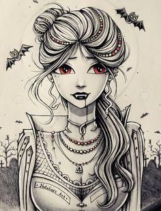 Vampire by natalico