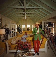 Hope & W. Clifford Klenk, 1968 {photo :: Slim Aarons}