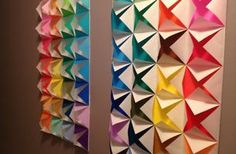 DIY: Origami Wall Art! -- Art For The Non-Artist