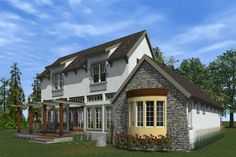 Plan #933-5 - Houseplans.com