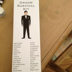 Grooms survival kit I made for my fiancé in a grey goose box Groomsmen Gift Bags, Groomsman Gifts, Wedding Men, Wedding Styles, Wedding 2015, Dream Wedding, Groomsmen Survival Kits, Groom Box, Wedding Inspiration