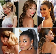 The Up-Do that comes in so many different styles. Who wore it best?